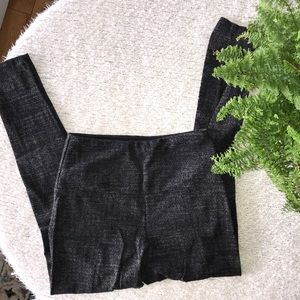 Leggings Black Gray by Lysse size medium